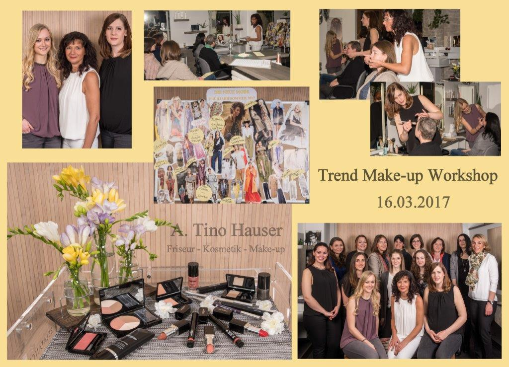 friseursalon a tino hauser trend make up workshop. Black Bedroom Furniture Sets. Home Design Ideas