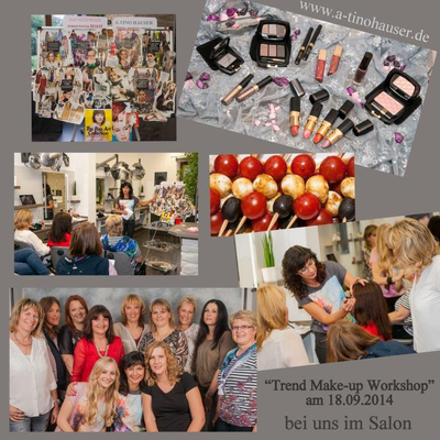 18.09.2014 Trend-Make-up-Workshop