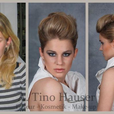 Vorher / Nachher - Frisur - Make-up