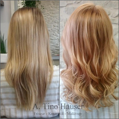 Pastell-blond-pfirsich-langehaare-waves