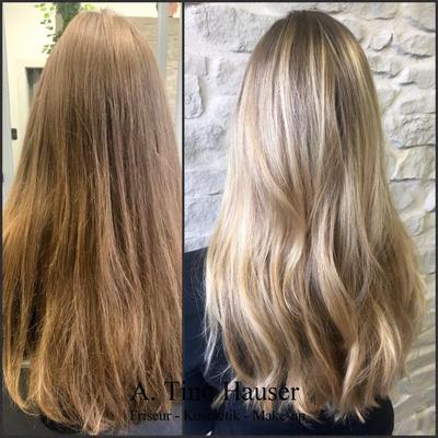 Blond-balayage-glossing-olaplex-langehaare